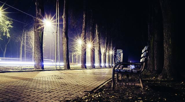 uliczne latarnie